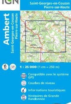 Livres Couvertures de 2732SB AMBERT ST-GEORGES-EN-COUZAN PIERRE-S-HAUTE