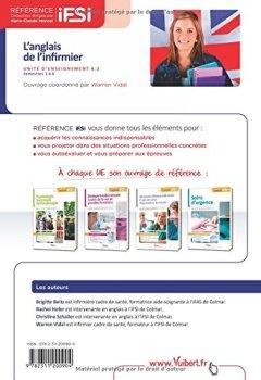 Livres Couvertures de L'anglais de l infirmier - UE 6.2 - Semestres 1 à 6