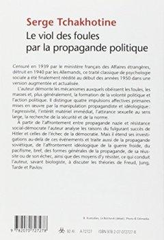 Livres Couvertures de Le Viol des foules par la propagande politique