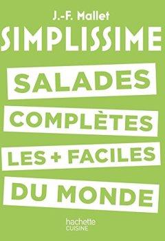 Livres Couvertures de Simplissime - Salades complètes les plus faciles du monde