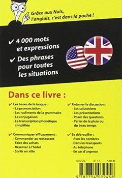 Livres Couvertures de L'anglais - Guide de conversation pour les Nuls, 2ème édition