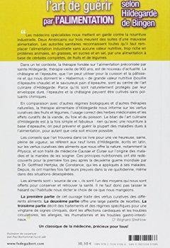 Livres Couvertures de L'art de guérir par l'alimentation selon Hildegarde de Bingen : Recettes, traitements et régimes