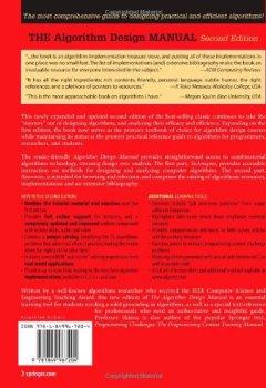 Livres Couvertures de The Algorithm Design Manual