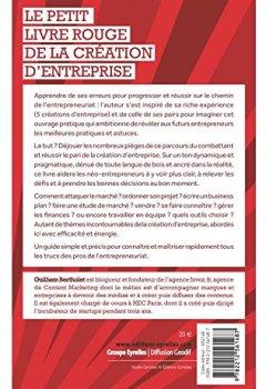 Livres Couvertures de Le petit livre rouge de la création d'entreprise