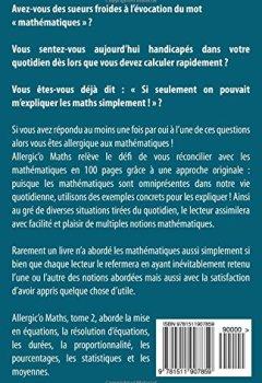 Livres Couvertures de Allergic'o Maths, tome 2: Réconciliez-vous avec les maths du quotidien