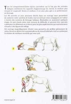 Livres Couvertures de 40 jeux et activités pour éduquer votre cheval