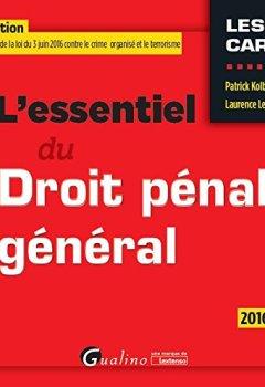 Livres Couvertures de L'Essentiel du Droit pénal général 2016-2017