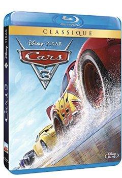 Livres Couvertures de CARS 3 /Blu-ray