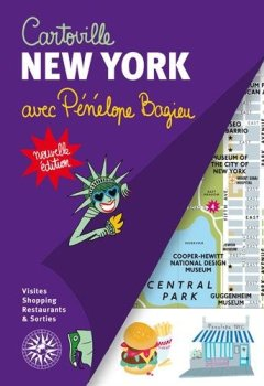 Livres Couvertures de New York: Avec Pénélope Bagieu