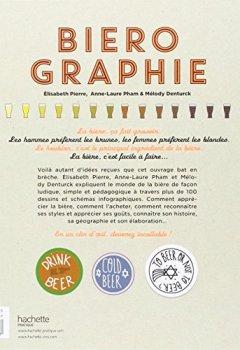 Livres Couvertures de Biérographie: Comprendre tout l'univers de la bière en un clin d'œil