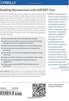 Livres Couvertures de Building Microservices with ASP.NET Core : Develop, Test, and Deploy Cross-Platform Services in the Cloud