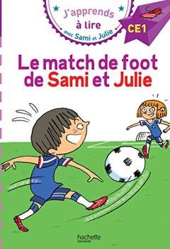 Livres Couvertures de Sami et Julie CE1 Le match de foot de Sami et Julie