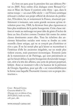 Livres Couvertures de La Dictature de la petite bourgeoisie