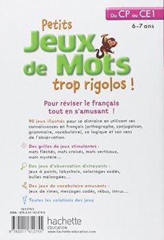 Livres Couvertures de Petits jeux de mots trop rigolos - Du CP au CE1 - Cahier de vacances