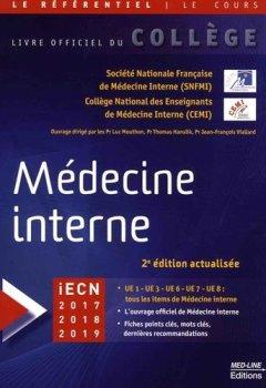 Livres Couvertures de Médecine interne