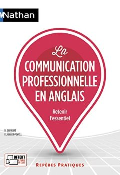 Livres Couvertures de La communication professionnelle en anglais (18)