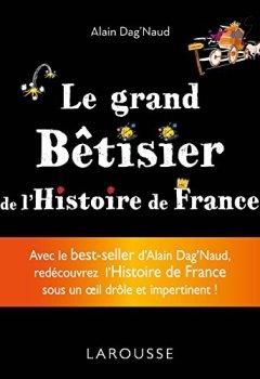 Livres Couvertures de Grand bêtisier de l'Histoire de France