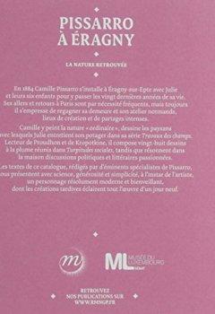 Livres Couvertures de Pissarro à Eragny : La nature retrouvée