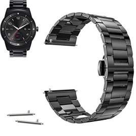 22mm-Stainless-Steel-Milanese-Loop-Watch-Band-Strap-Pins-Tool-For-LG-Watch-Urbane-G-Watch-R-2015-YESOO-Retail-Packaging-180-Days-Warranty