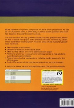 Livres Couvertures de IELTS Trainer Six Practice Tests with Answers and Audio CDs (3)