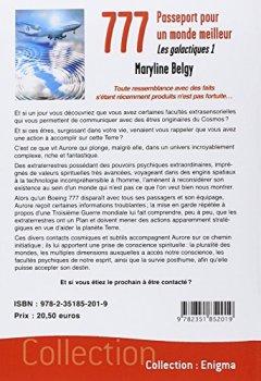 Livres Couvertures de 777 - Passeport pour un monde meilleur - Les galactiques 1