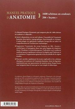 Livres Couvertures de Manuel Pratique d'Anatomie