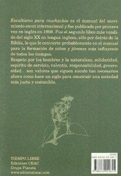 Portada del libro deEscultismo para muchachos: Manual para la educación de buenos ciudadanos / El libro fundacional del movimie (EDUCACION)