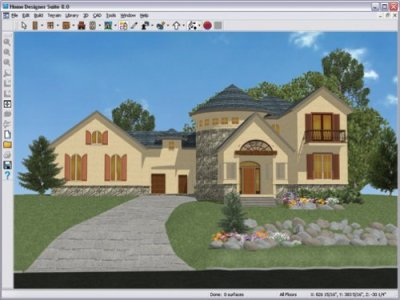 Architecture Design: Better Homes and Gardens Home Designer Suite 8.0