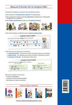 Telecharger Francais Cm1 Manuel Etude De La Langue Pdf Livre
