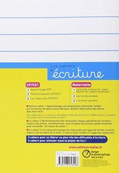 Livres Couvertures de Les cahiers d'écriture CP/CE1 nº2 - Perfectionnement