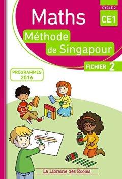 Livres Couvertures de Maths CE1, méthode de Singapour, fichier 2 : Programmes 2016