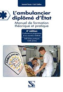 Livres Couvertures de L'ambulancier diplôme d'état 4e édition