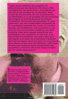 Livres Couvertures de Lois psychologiques de l'évolution des peuples