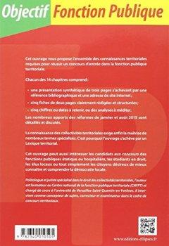 Livres Couvertures de Les Collectivités Territoriales en 70 fiches
