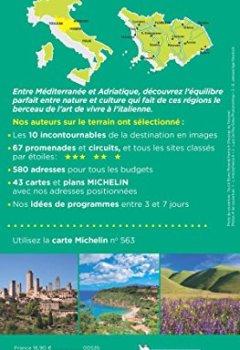 Livres Couvertures de Guide Vert Toscane, Ombrie Michelin