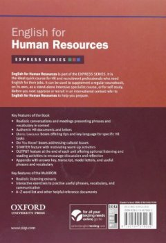 Livres Couvertures de Express Series: English for Human Resources