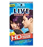 Schwarzkopf Live Color Xxl Hd 87 Mystic Violet Permanent Purple Hair Dye