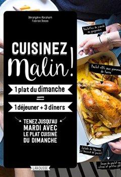 Livres Couvertures de Cuisiner malin !
