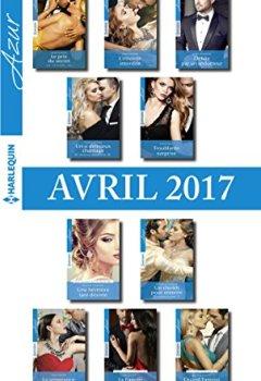 Livres Couvertures de 10 romans Azur + 1 gratuit (nº3815 à 3824 - Avril 2017)
