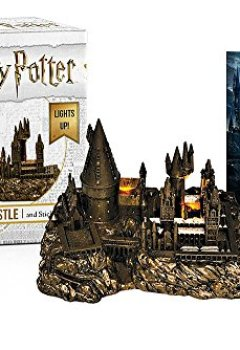 Livres Couvertures de Harry Potter Hogwarts Castle and Sticker Book: Lights Up!