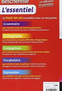 Livres Couvertures de Bescherelle L'essentiel: Tout-en-un sur la langue française