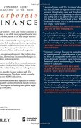 Livres Couvertures de Corporate Finance: Theory and Practice
