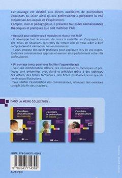 Livres Couvertures de L'auxiliaire de puériculture en pédiatrie et en néonatalogie