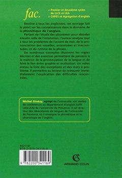 Livres Couvertures de Mémento de phonétique anglaise - Avec exercices corrigés