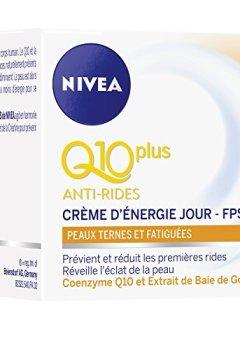 Livres Couvertures de Nivea Q10+ Anti-Rides Crème d'Energie Jour Peaux Ternes et Fatiguées 50ml