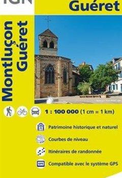 Livres Couvertures de Top100140 Montlucon/Gueret 1/100.000