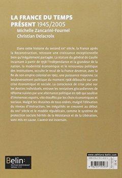 Livres Couvertures de La France du temps présent 1945-2005 - Format compact