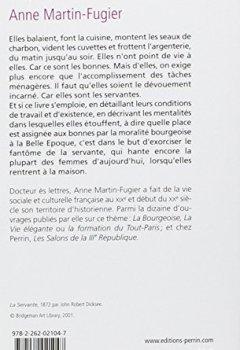 Livres Couvertures de La place des bonnes :  La domesticité féminine à Paris en 1900