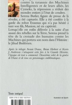Livres Couvertures de Dune, la Genèse (2)