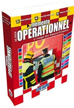 Livres Couvertures de Livre Mémento opérationnel à l'usage des sapeurs-pompiers - Format de poche